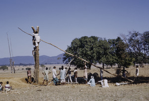 Building a well near Ranchi