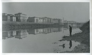 Fishing in the Arno