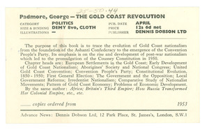 The Gold Coast Revolution