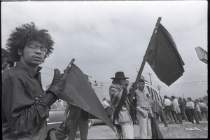 Antiwar demonstration at Fort Dix, N.J.