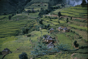 Farmhouses in Nepal