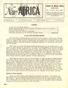 New Africa volume 7, number 3
