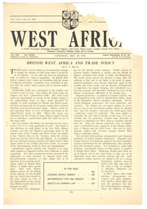 West Africa no. 1632 vol. 32 [fragment]