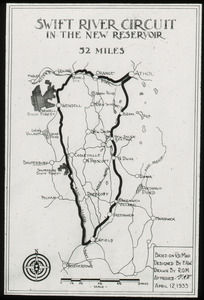 Swift River Circuit in the New Reservoir, 52 miles, designed by Waugh
