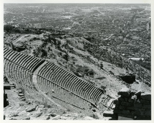 Steep theater and Bergama