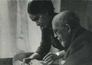 Shirley Graham and W. E. B. Du Bois