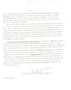 Letter from W. A. Hunton to Ghana Academy of Sciences