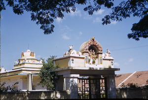 Small Hindu temple in Bangalore