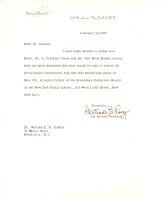 Letter from Gertrude B. Loey to W. E. B. Du Bois