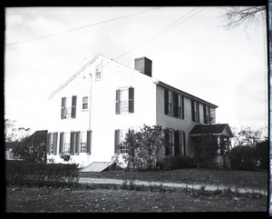 Donald W. Barnes: clapboard-sided house