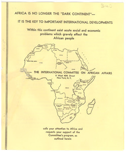 Africa is no longer the dark continent - It is the key to important international developments