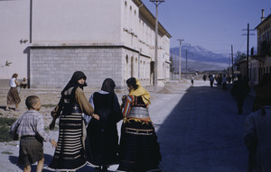 Albanian women in Titograd