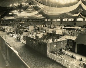Department of Public Welfare exhibit booth