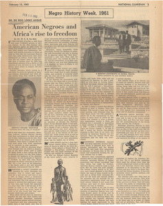 American Negroes and Africa's rise to freedom