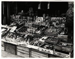Greengrocers's stand