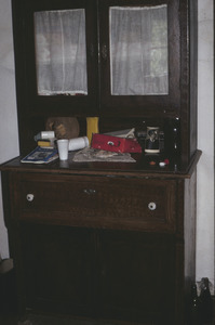 Peasant home cupboard