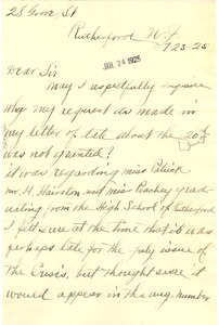 Letter from Joseph E. Smith to Crisis