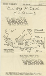 Facts about the Republic of Indonesia