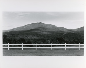 Fence and Burke Mountain