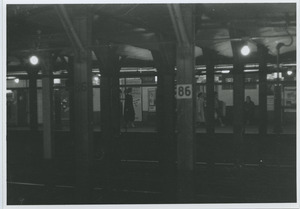 86th street subway platform