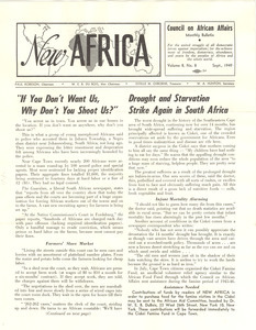 New Africa volume 8, number 8