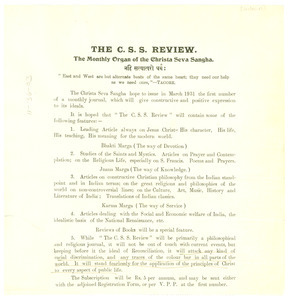The C.S.S. review