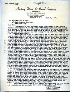 Letter from Peter Kaminski to W. E. B. Du Bois