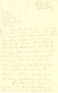 Letter from G. L. Nagol to the editor of The Crisis