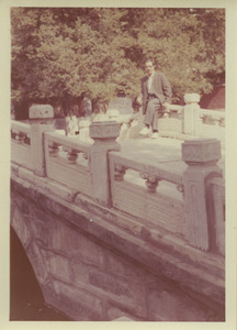 Unidentified man at the Summer Palace in Beijing, China