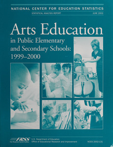 Arts education in public elementary and secondary schools, 1999-2000