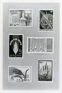 Wheat stamps