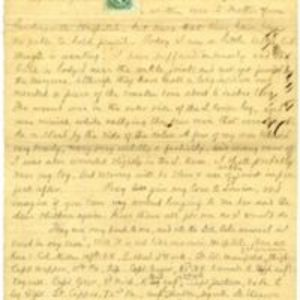 Autograph letter signed : Lynchburg, Va., to James T. Fields