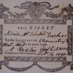 Admission Ticket to a lecture at Harvard Medical School