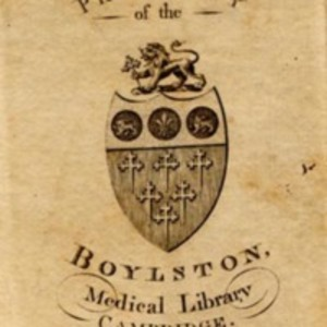 Boylston Medical Library bookplate