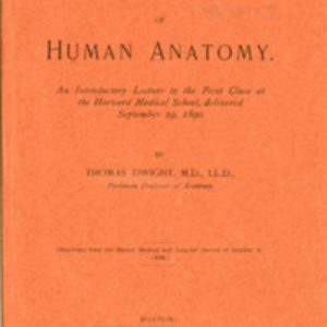 The scope and teaching of human anatomy