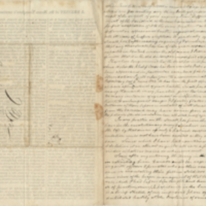 Letter from Moses Younglove to Sylvanus Fansher