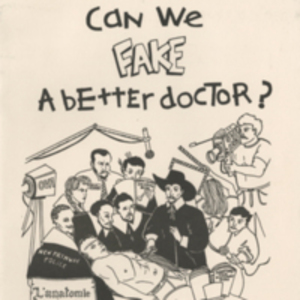Can we fake a better doctor?