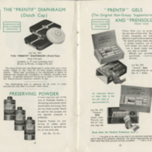 Contraceptive methods and appliances