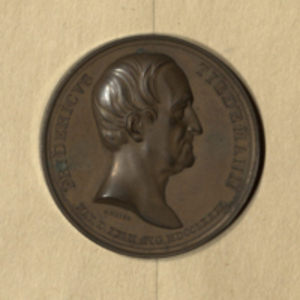 Commemorative medal of Friedrich Tiedemann
