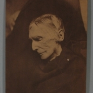 Black and white photographic print of John Collins Warren after death
