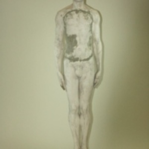 "Dickinson-Belskie model of ""Normman,"" half size, 1939-1950"