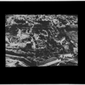 Aerial photograph of Ypres