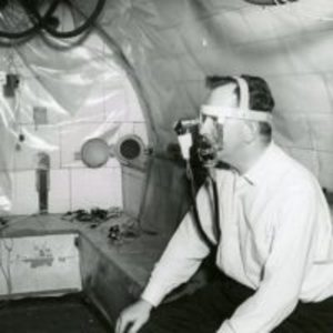 Altitude or pressure chamber at 55 Shattuck Street