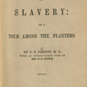 Title-page of Inside View of Slavery (1855)