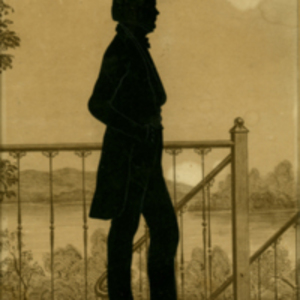 Self-Portrait in the Form of a Silhouette.
