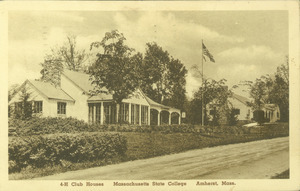 4-H club houses, Massachusetts State College, Amherst, Mass.