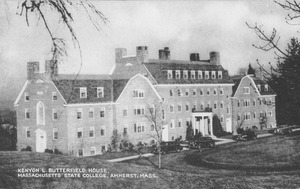 Kenyon L. Butterfield House, Massachusetts State College, Amherst, Mass.