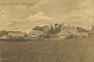 The barns, M.A.C., Amherst, Mass.
