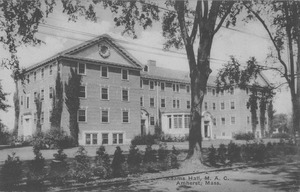 Adams Hall, M.A.C., Amherst, Mass.
