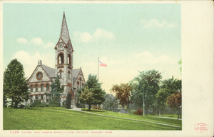 Old Chapel, Massachusetts Agricultural College